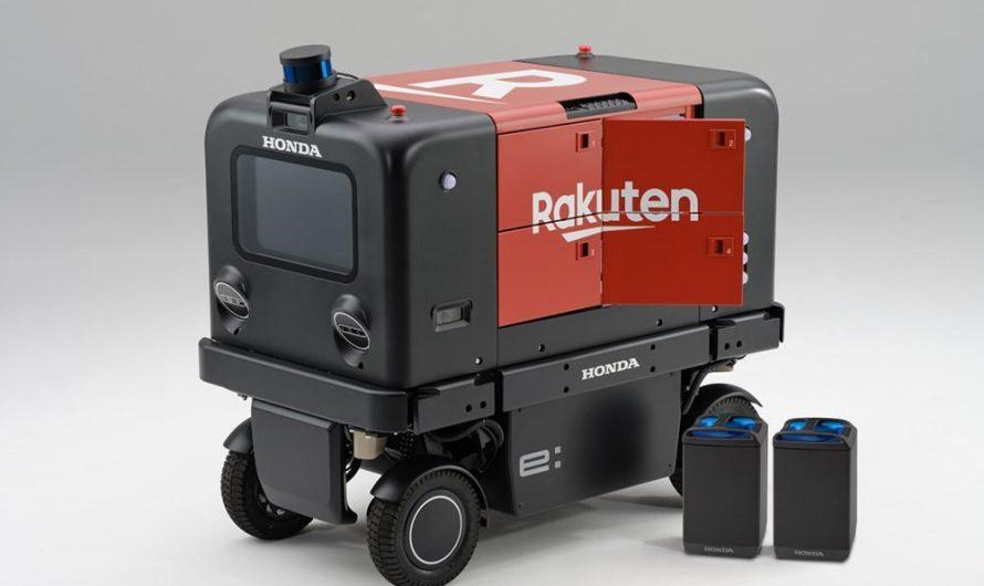 Kolaborasi Honda dan Rakuten, Eksperimen Robot Pengiriman Otomatis